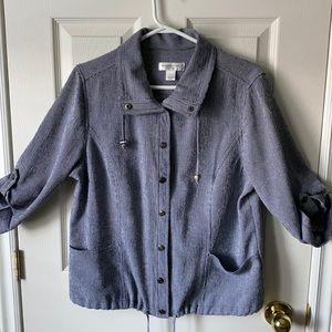Petite Christopher banks Gingham Jacket